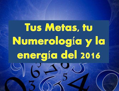 Metas y Numerología